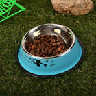 CFAD Pet Dish Cat feed Pet Feeding Bowl Water Bowl Stainless Steel Anti Skid