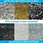 Glitter Wallpaper Chunky 3D Silver Black White Crystal samples BY METER NOT ROLL