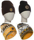 NHL Boston Bruins Winter Beanie Knit Hat Professional Hockey Team Hat $12.93 USD on eBay