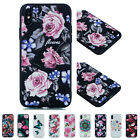 For iPhone X 6S 7 8+ Soft Floal Bird Flamingo Painted TPU Gel Back Case Cover
