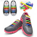 8150 16PCS No Tie Shoelaces Silicone Elastic Shoe Laces For Sneakers Colorful
