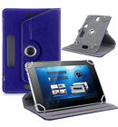 "360° Leather Case Cover For Universal Android Tablet PC 7"" 8"" 10"" Hot"