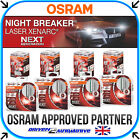 OSRAM NIGHT BREAKER LASER XENARC NEXT GENERATION BULBS D1S D2S D3S D4S FITTINGS