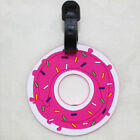Creative Cute Silicone Luggage Tag Baggage Suitcase Name Address ID Travel Label