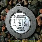 """SWAg - The Chemistry of Christmas SPINNING Geomedal Geocoin (2.25"""")"""