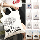 Simple Handbag Shoulder Canvas Shopping Tote Satchel Eco Bag Square bags BBB
