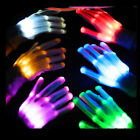 Внешний вид - LED Light Gloves Finger Lighting Electro Rave Party Dance Skeleton Halloween
