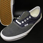 VANS ERA DENIM MIX DRESS BLUES TRUE WHITE MEN'S 12 SKATE SHO