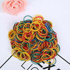 Внешний вид - 100pcs Set Useful Rubber Band Office Supplies Ponytail Holder Band Elastic Ties