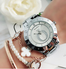 Best Selling Women's Dress Stainless Steel Watch PA Crystal Simple Bear Watch