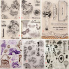 Lady Transparent Silicone Clear Stamps Girl DIY Scrapbook Card Embossing Fairy