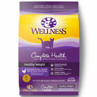 Wellness Complete Health Natural Dry Healthy Weight Cat Food Chicken Chicken