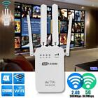 1200Mbps Dual-Band 2.4 / 5G 4-Antenna WIFI Range Extender Repeater Router