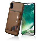 Pierre Cardin Genuine Leather For Apple iPhone XR XS MAX Stand Flip Cover Case