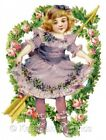 Victorian Girl Cupids Arrow Quilt Block Multi Szs FrEE ShiPPinG WoRld WiDE (V31