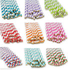 Kyпить 25pcs Colors Striped Paper Drinking Straws-Rainbow Mixed For Party Decorations на еВаy.соm