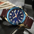 Men Watches Date display Fashion Leather Quartz Boy Wristwatches 6 Colors CURREN