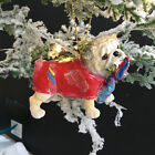 Dressed Dog Christmas Tree Decoration Dachshund Bull Poodle Gisela Graham Gift