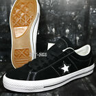 Converse ONE STAR SKATE OX BLACK WHITE BLACK SUEDE MEN'S 10 SHOES G89165.123