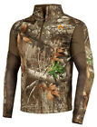 ScentLok BaseSlayers AMP Mid Weight Top (Realtree Edge, Large)