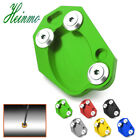 Kickstand Side Stand Extension Plate Pad For Kawasaki Z800 Z1000 ER6N ZX6R ZX10R