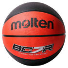 RED/BLACK 8 PANEL RUBBER BASKETBALL IN VARIOUS SIZES **BC6R2-RK-BC7R2-RK**