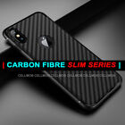 Case for iPhone XS XS MAX X XR Carbon Fibre Soft Cover TPU Silicone Slim