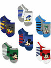 Mickey Mouse Toddler Boys 6 pack Socks Set MK056BNS MK056ENS