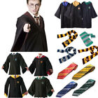 Harry Potter Cosplay Robe Cloak Gryffindor Halloween Fancy C