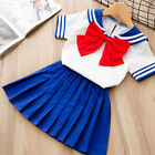 Baby Girls Outfits Clothes Short Shirt Tops  Skirts Sets Sailor Moon Clothes