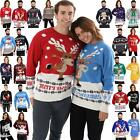 Mens Christmas Jumper Womens Ladies Xmas Novelty Vintage Sweaters Unisex Retro
