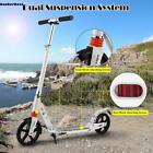 Folding Aluminum 2 Wheel Adult Kick Scooter Lightweight Dual Suspension