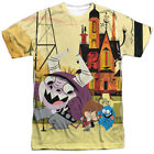 Authentic Foster TV Show Cartoon Network Funny Friends Sublimation Front T-shirt