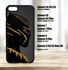 Black Panther Killmonger Iphone Case 5C 5S 6 7 8 Plus, X XS XS Max XR