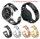 22MM Stainless Steel Bracelet Watch Band Wrist Strap Diamond Belt For Samsung LG image