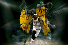 LeBron James Cleveland Cavaliers Autographed POSTER PRINT LAMINATED. PERFECT on eBay