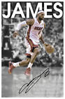 LeBron James Cleveland Cavaliers Autographed POSTER PRINT LAMINATED.PERFECT GIFT on eBay