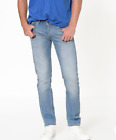 Mens Lee Daren regular slim fit jeans 'Sky blue' FACTORY SECONDS L189