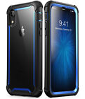 iPhone XR 6.1 Case, i-Blason Ares Full-Body Shockproof Cover w/ Screen Protector