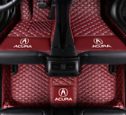 Luxury custom Car Floor Mats For Acura TL ILX MDX RDX RLX TLX TSX 2006-2019