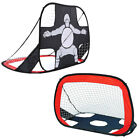 1-10PCS 2 in1 Football Soccer Goal Net Pop Up Foldable Portable In/Outdoor Sport