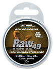 Savage Gear Raw 49 Steel Wire - Pike Muskie Zander Perch Predator Fishing Traces