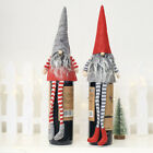 Внешний вид - Cute Gnome Doll Red Wine Bottle Cover Christmas Xmas Party Table Decor HOT Beamy