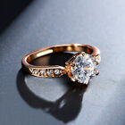 1.75ct AAA Zircon Engagement Rings for women Rose gold color Wedding rings femal