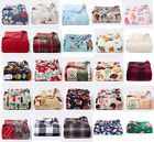 NEW The Big One Supersoft Plush Throw Blanket Ultra Comfy Holiday Themes image