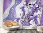 Wall Mural Photo Wallpaper Image EASY-INSTALL Fleece Floral Pattern Abstract Art