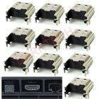 10pcs HDMI Port Connector Socket Replacement for Sony PlayStation4 PS4-Console
