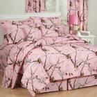 Girls Realtree AP Pink Camo Comforter Set Bed in Bag With Curtain Option