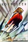 The Rocketeer Vintage Movie Poster Art Deco Reproduction