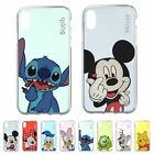 DISNEY Color Heart Jelly Cover Galaxy S10 S9 iPhone XS Max XR X 8 7 6S Plus Case